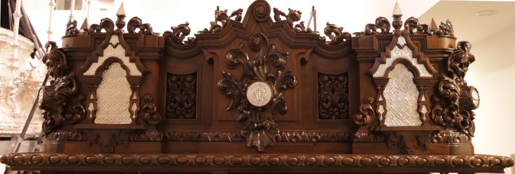 Frontal trono Cristo