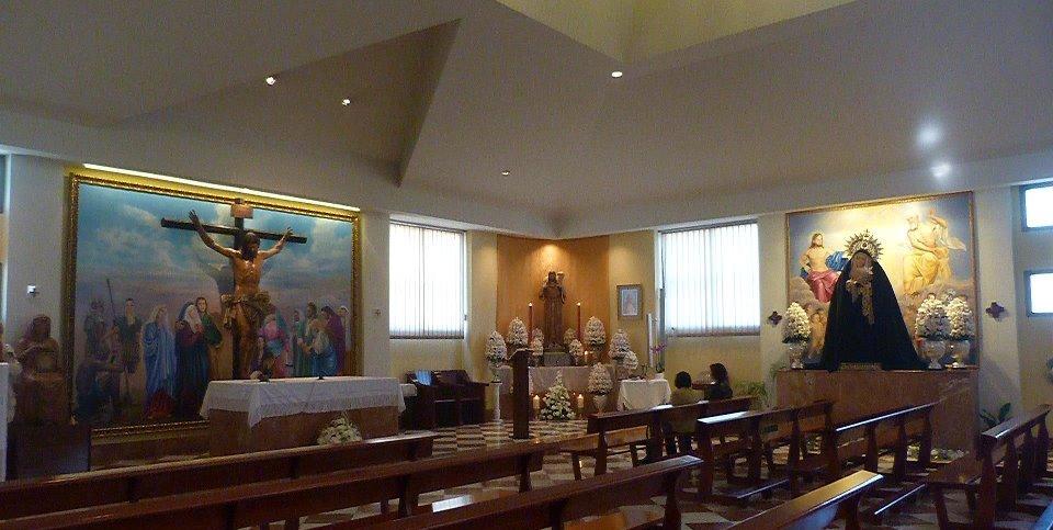 Interior Parroquia