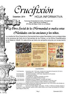 Hoja informativa Diciembre 2014