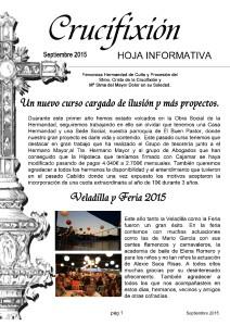 hoja informativa septiembre 2015