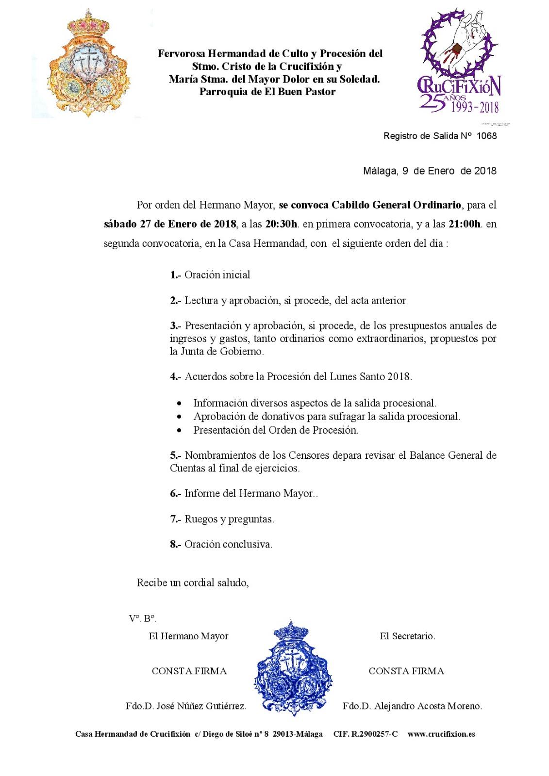 Cabildo 2018