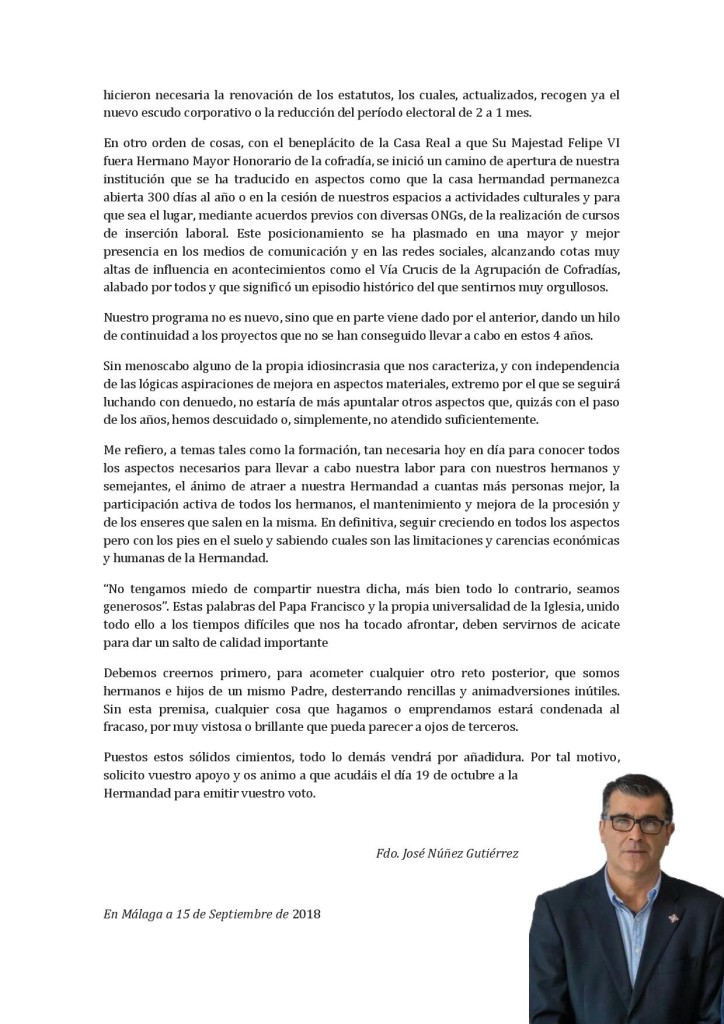 Carta a los Hermanos pág. 2