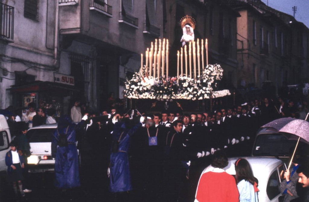 Salida procesional 1986.
