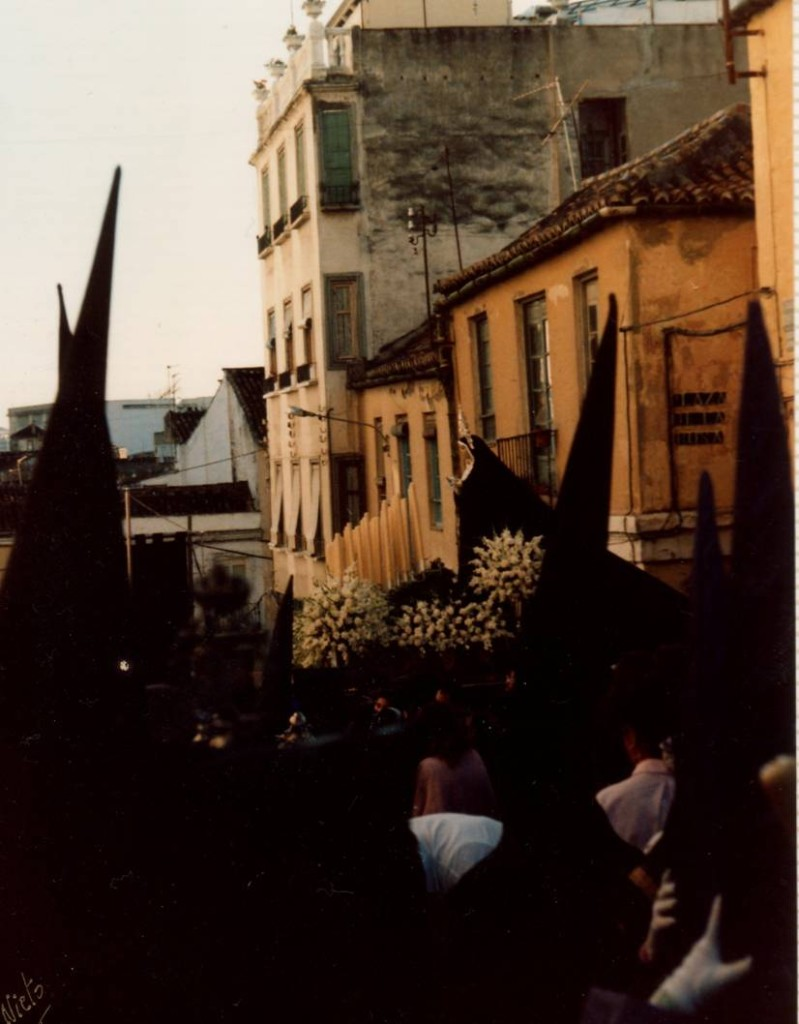 Salida desde la plaza Rosa, 1986.