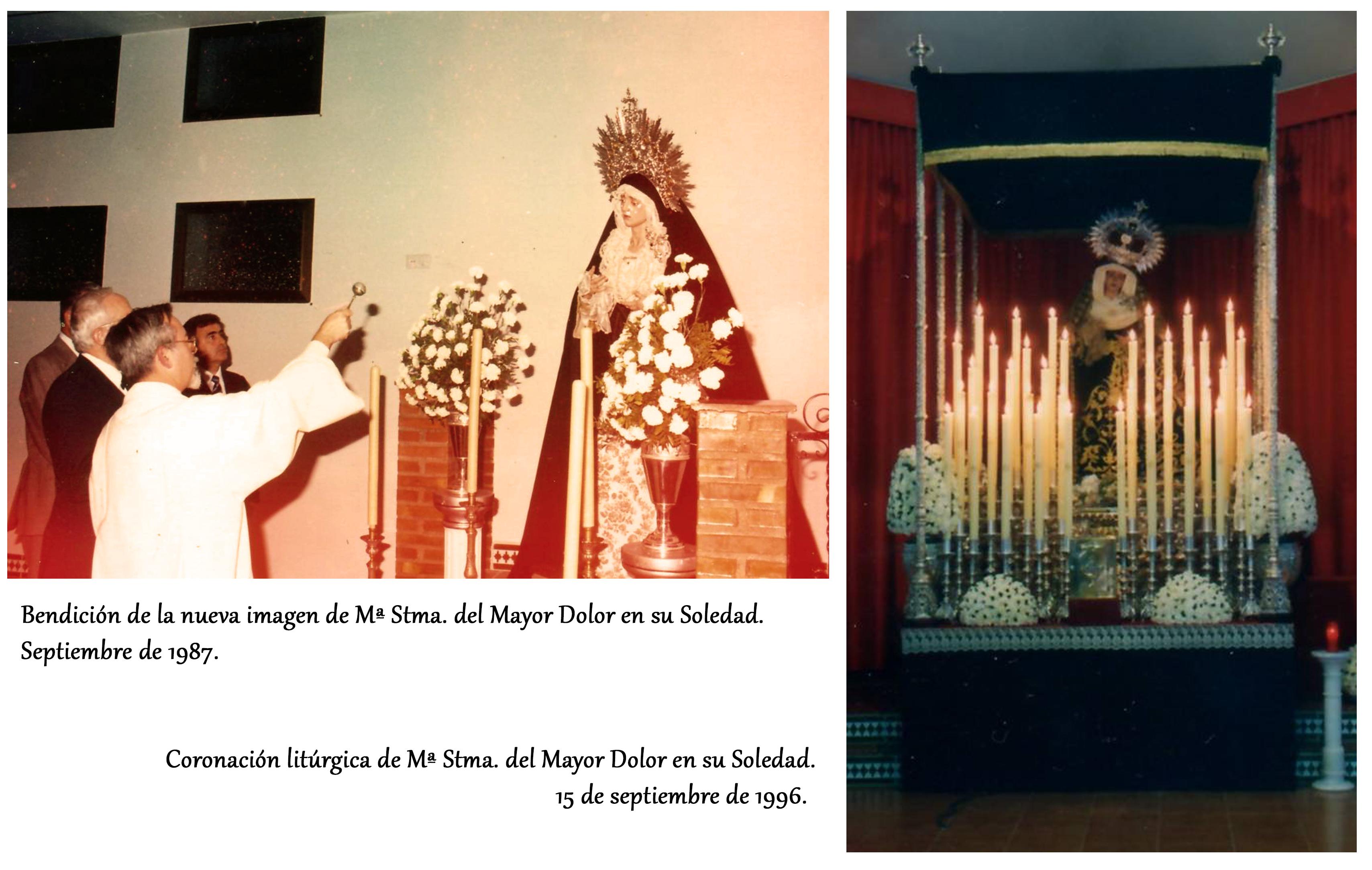 bendición y coronación litúrgica